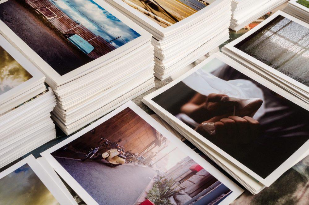 代表的な印刷業者の紙質